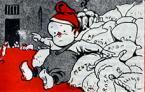 Detall de la portada d''En Patufet'