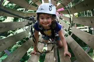 Parcs aventura amb nens